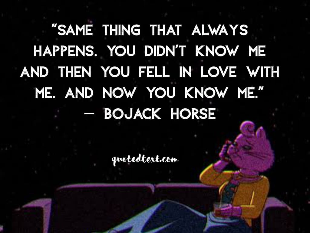 bojack horseman quotes on love