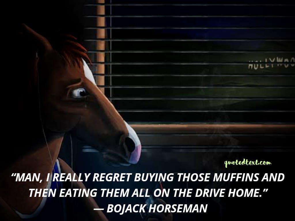 bojack horseman quotes on regret
