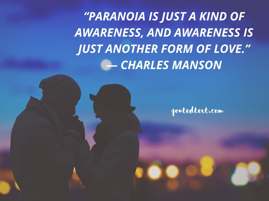 charles manson quotes on love