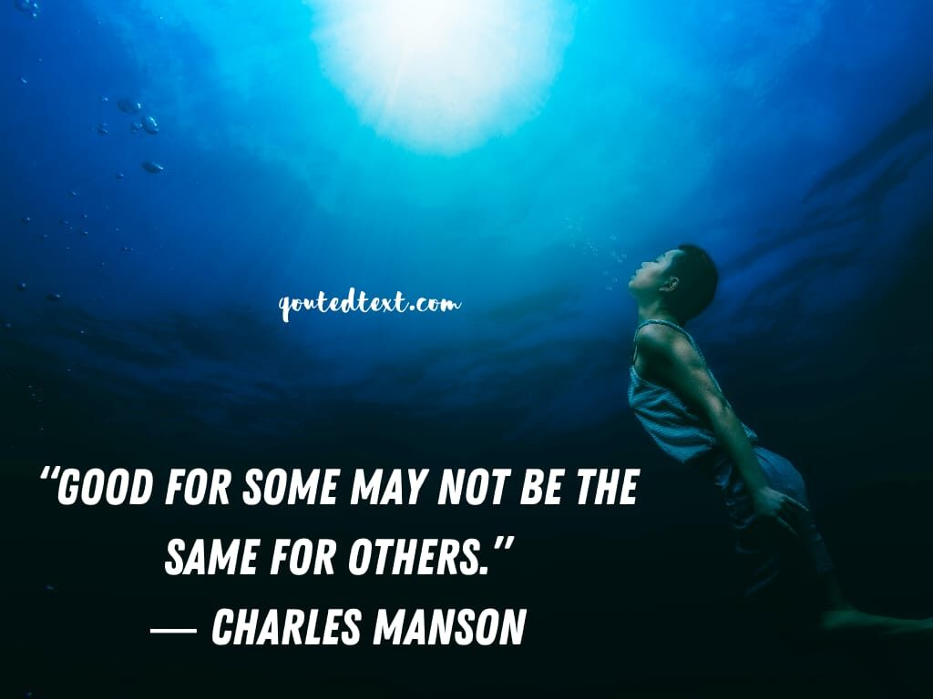 charles manson quotes on life