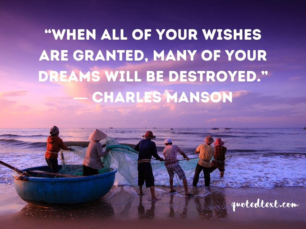 charles manson quotes on dreams