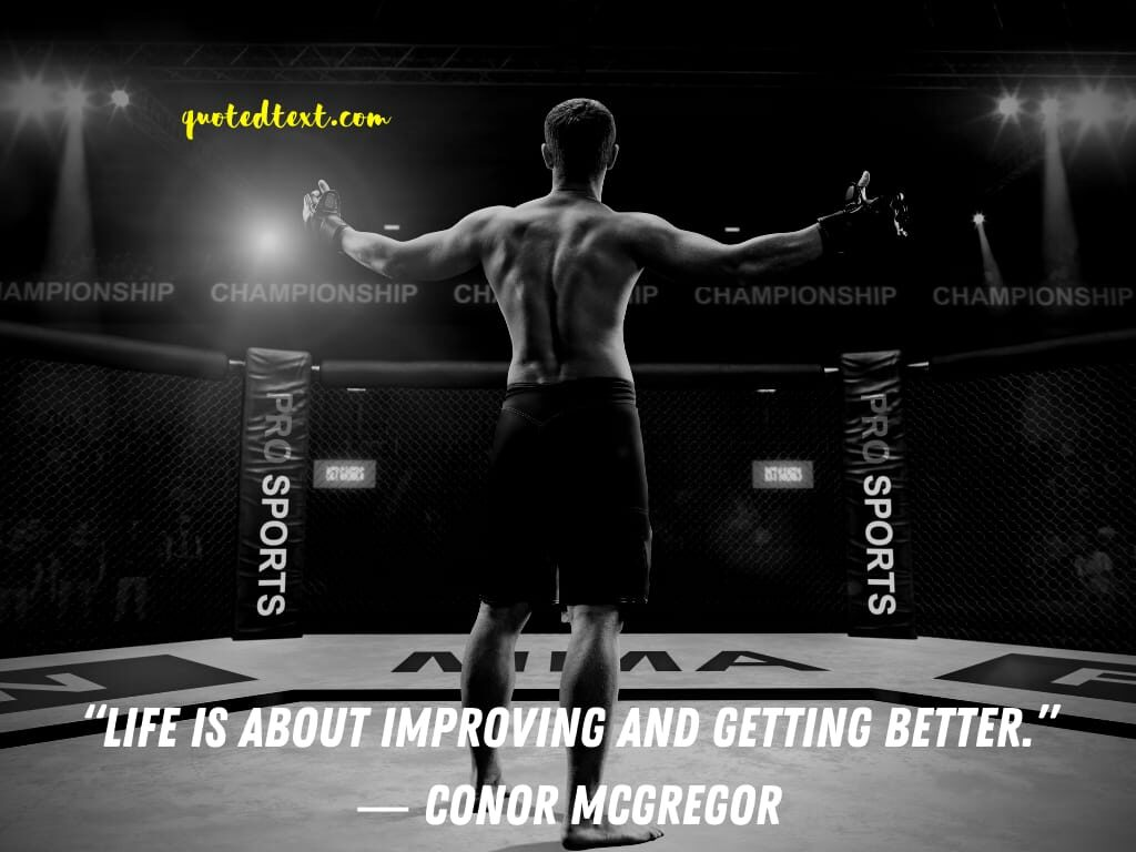 conor mcgregor quotes on life