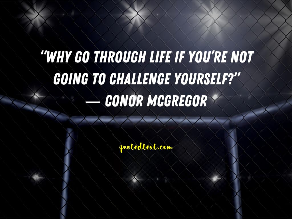 conor mcgregor quotes on changing life