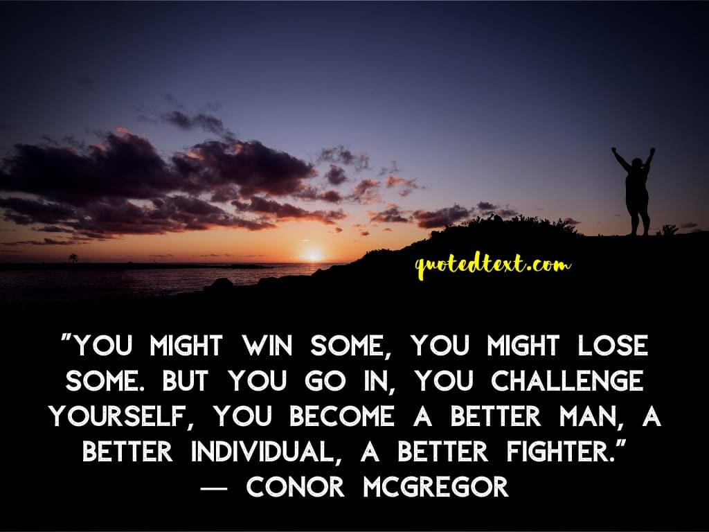 conor mcgregor quotes on winning
