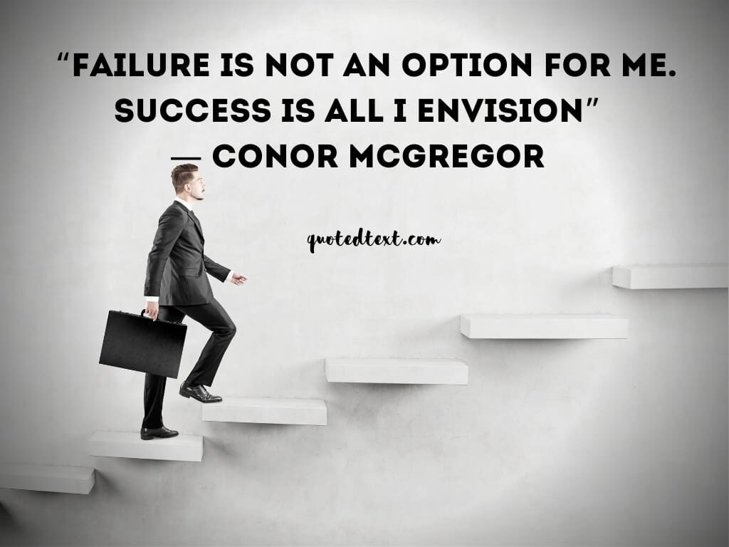 conor mcgregor quotes on failure
