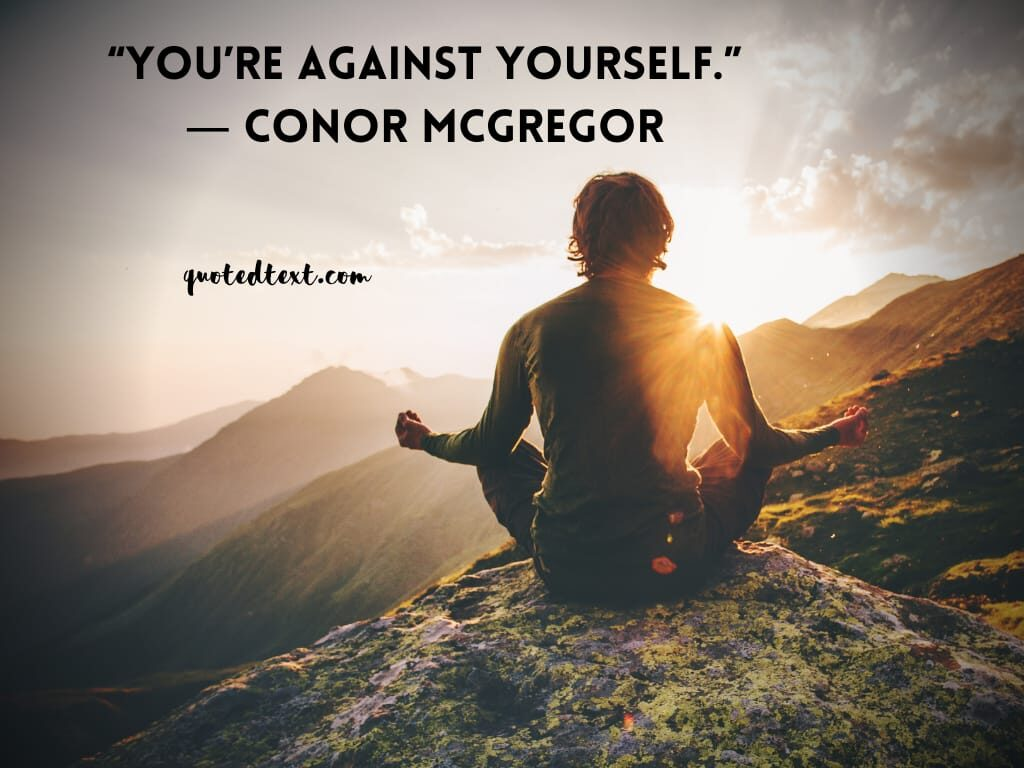 conor mcgregor inspirational quotes