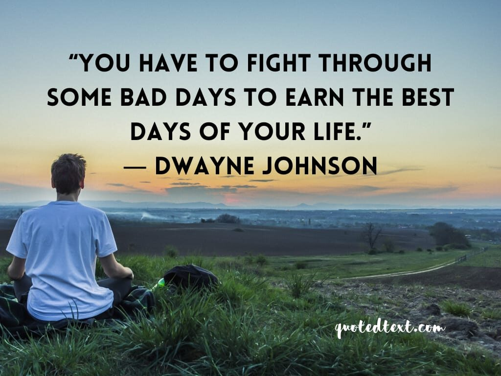 Dwayne johnson quotes on life