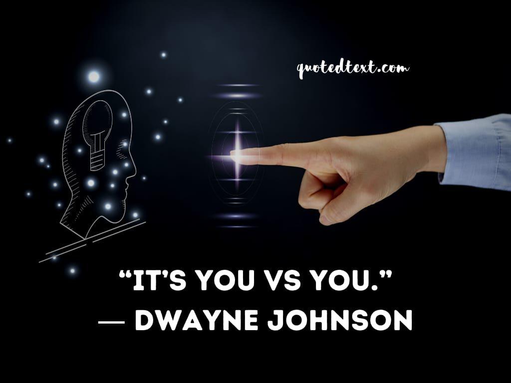 Dwayne johnson inspirational quotes