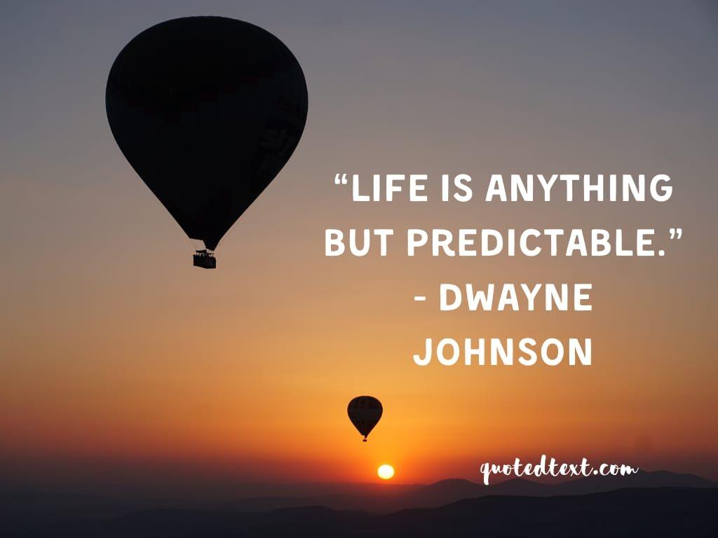 Dwayne johnson quotes on life