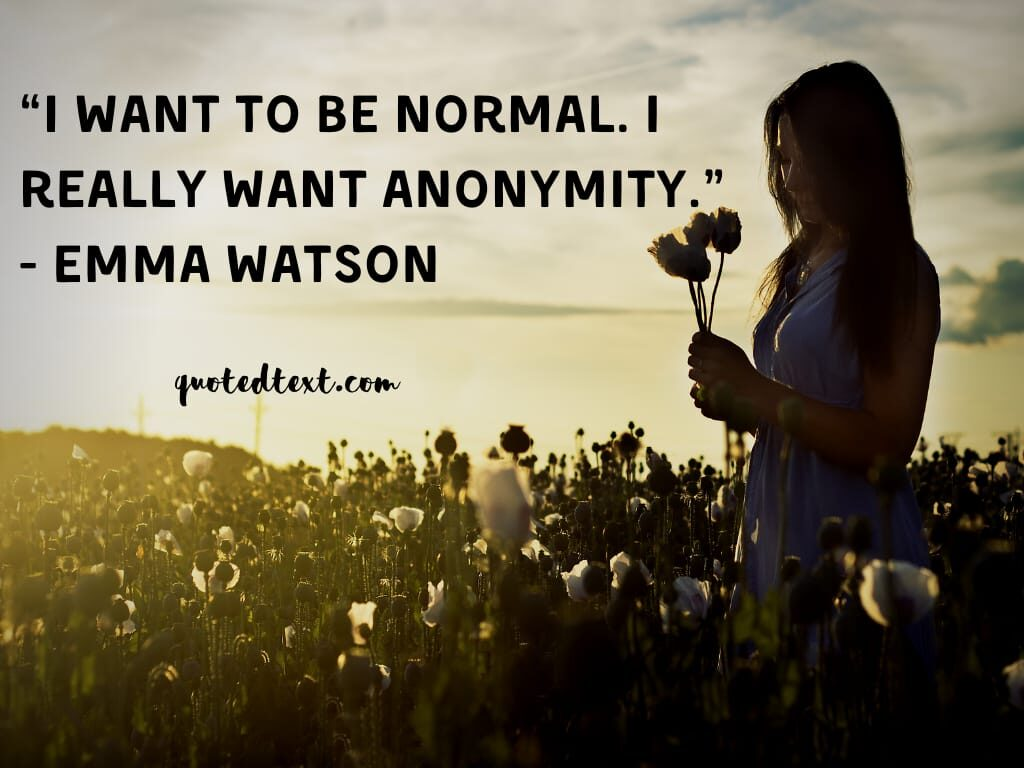emma watson quotes on be yourself
