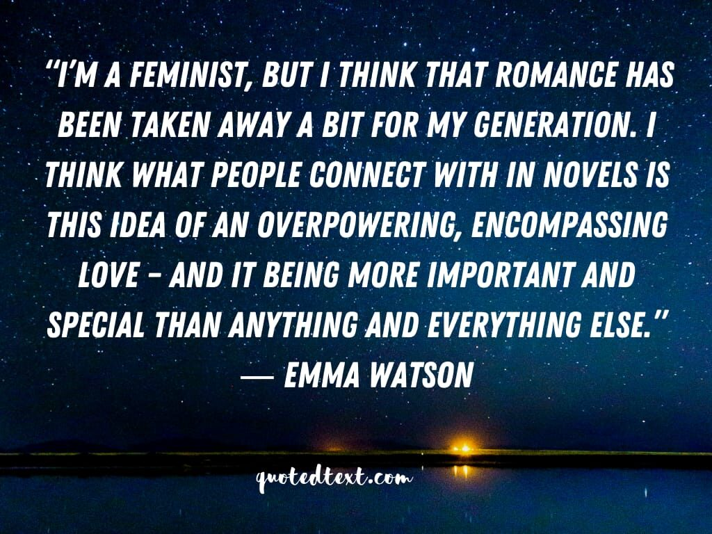 emma watson quotes on feminism