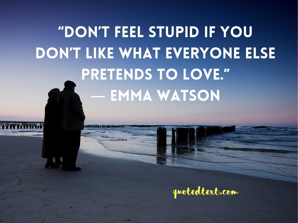 emma watson quotes on love