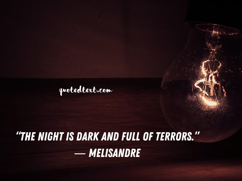 game of thrones quotes on night