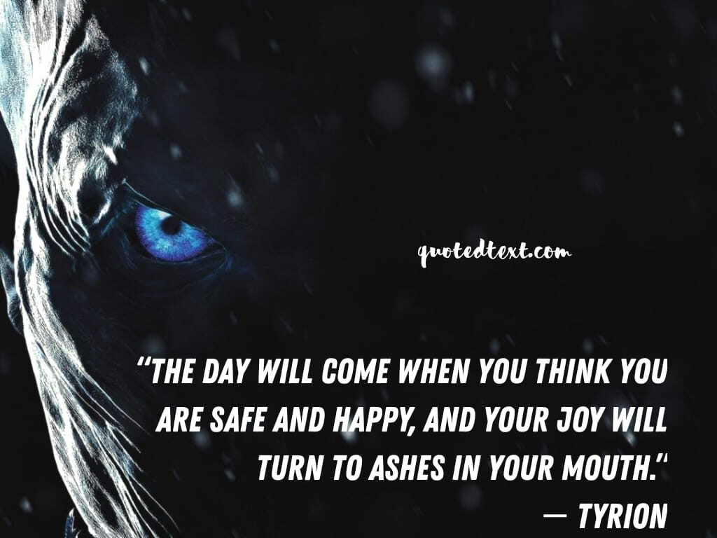 game of thrones quotes on life