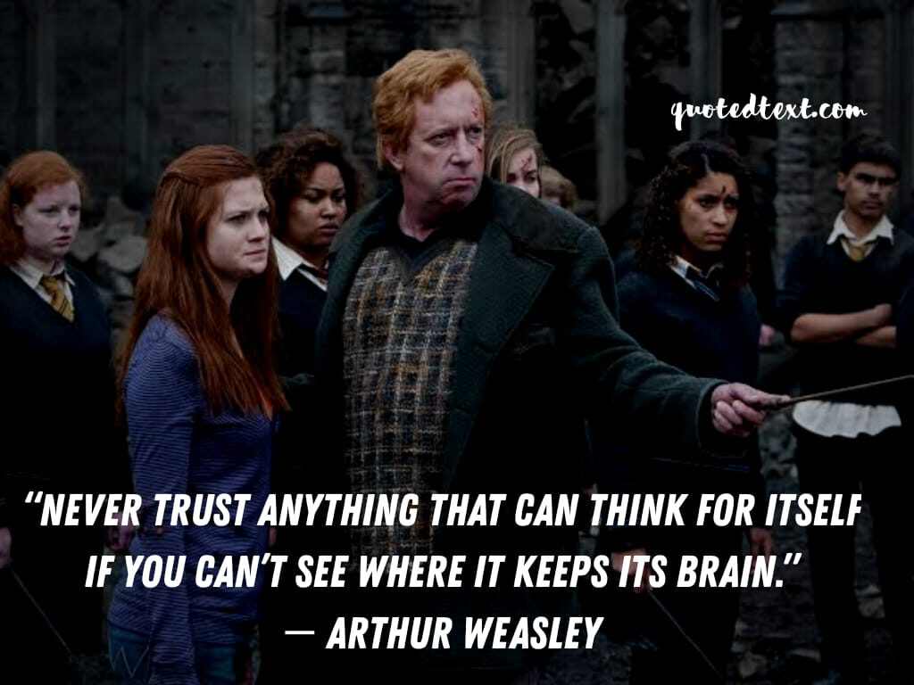harry potter quotes on trust