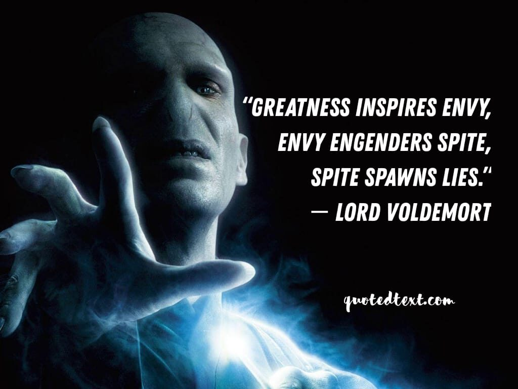 lord voldemort quotes on greatness