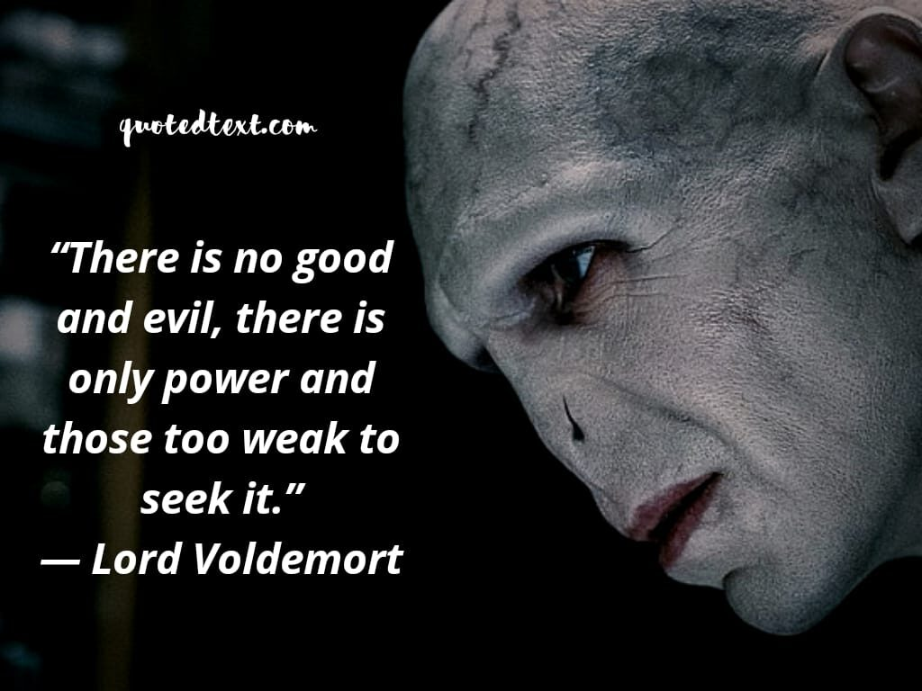 lord voldemort quotes on power