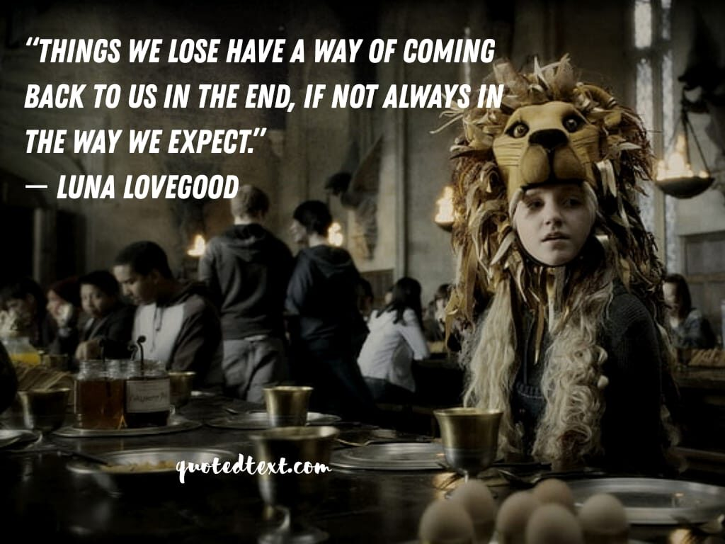 harry potter quotes on expectations