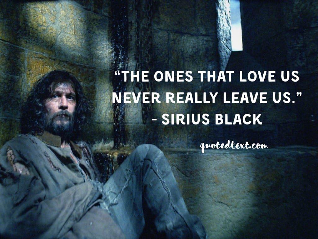 sirius black quotes on love