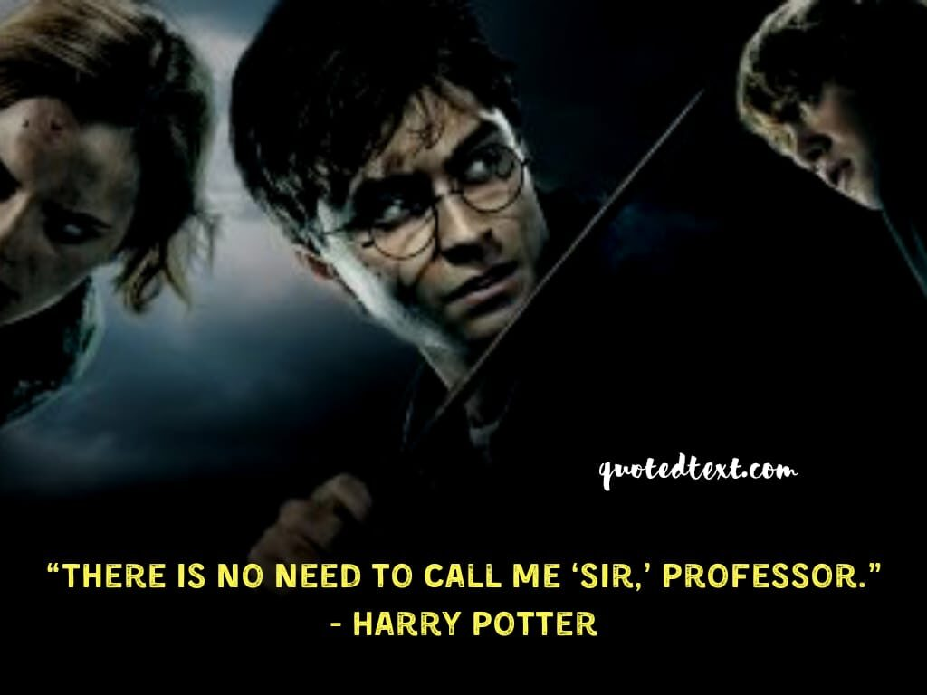 harry potter quotes on his humour