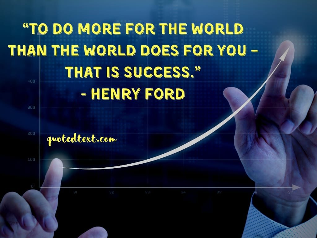 henry ford quotes on success