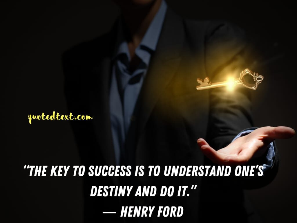 henry ford quotes on key to success