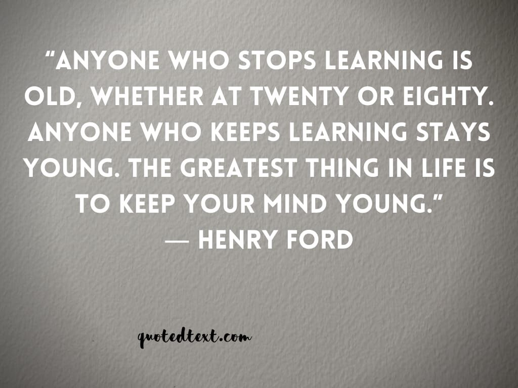 henry ford quotes on mind