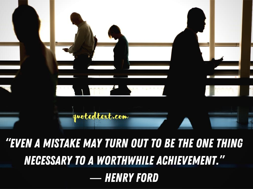 henry ford quotes on mistake