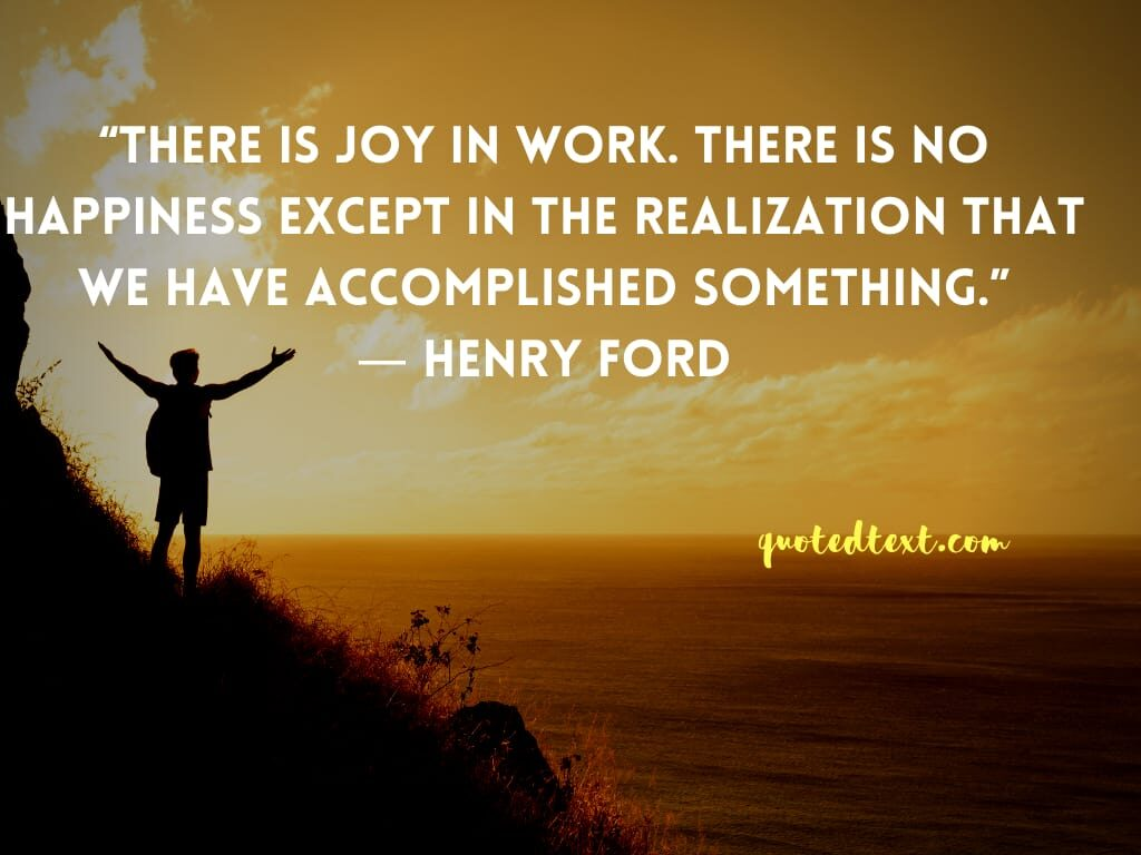 henry ford quotes on happiness