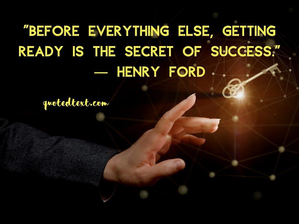 henry ford quotes on secret of success