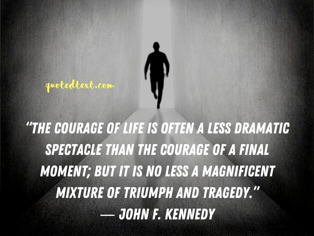 john f. kennedy quotes on courage