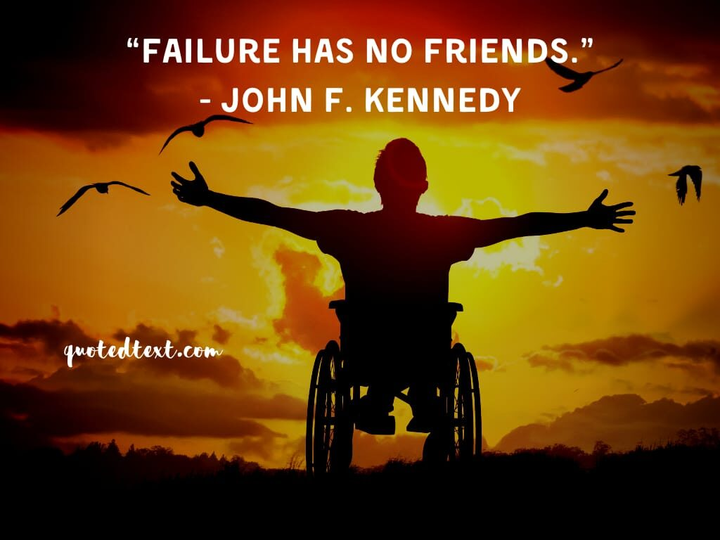 john f. kennedy quotes on failure