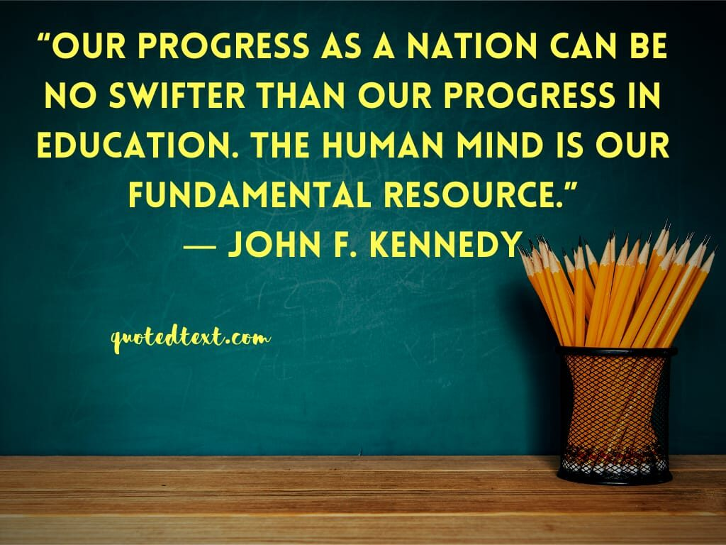john f. kennedy quotes on mind