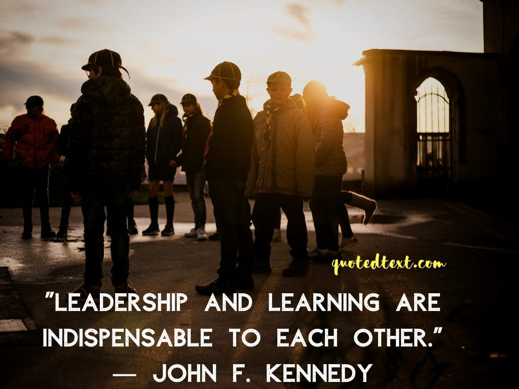 john f. kennedy quotes on leadership