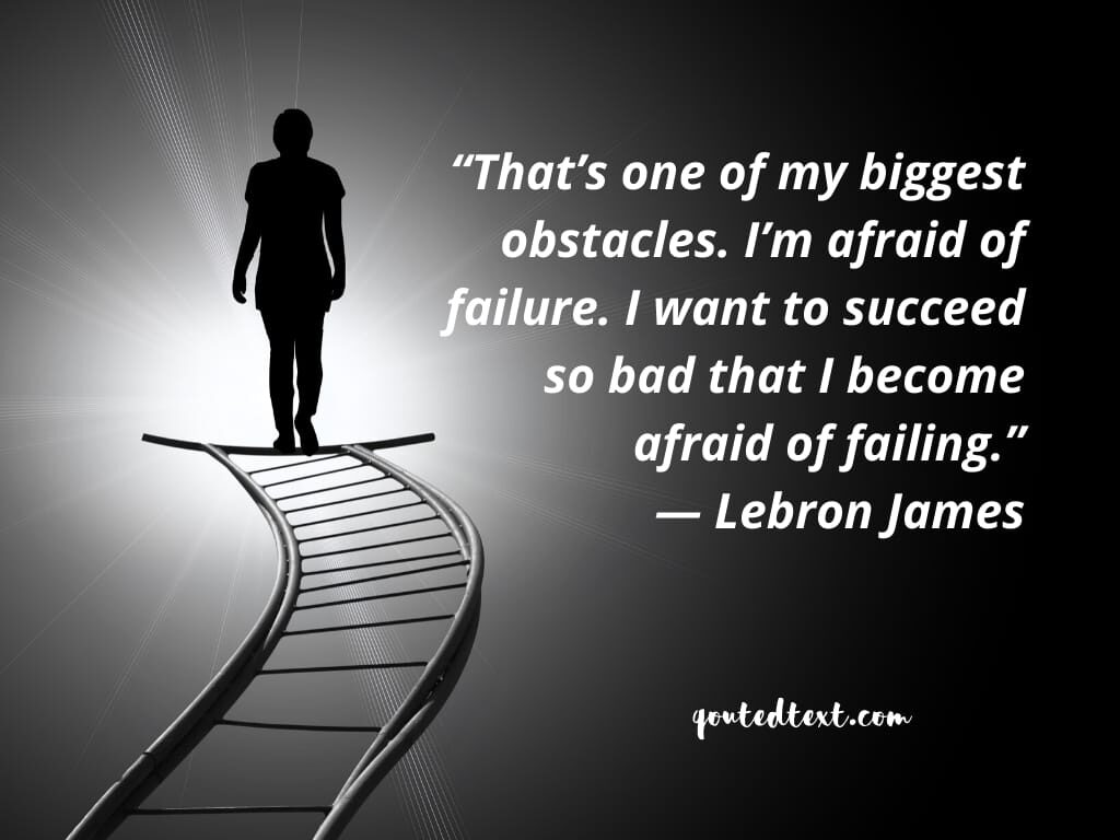 lebron james quotes on failing