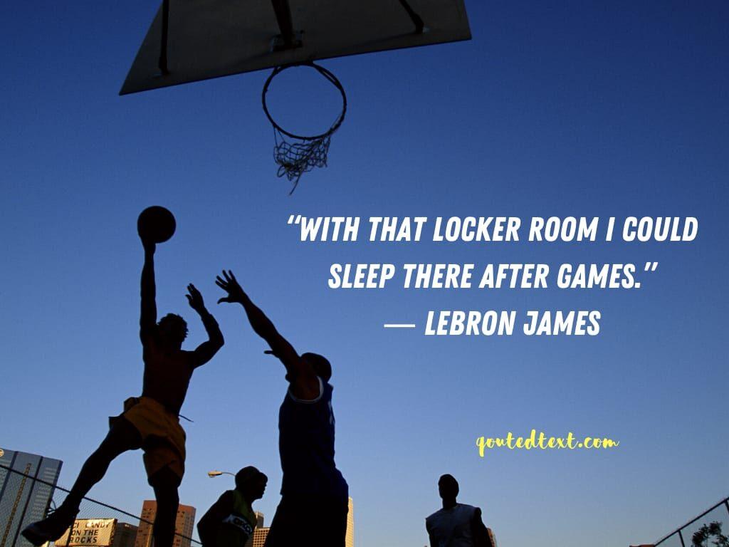 lebron james quotes on sleep