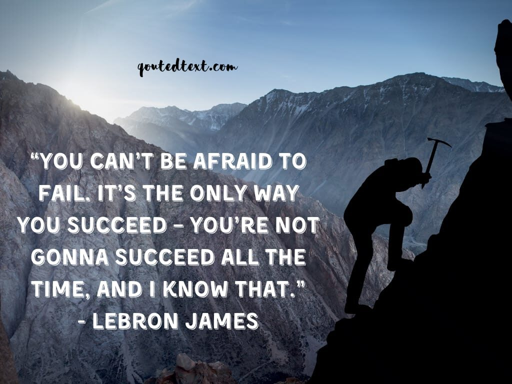 lebron james quotes on failure