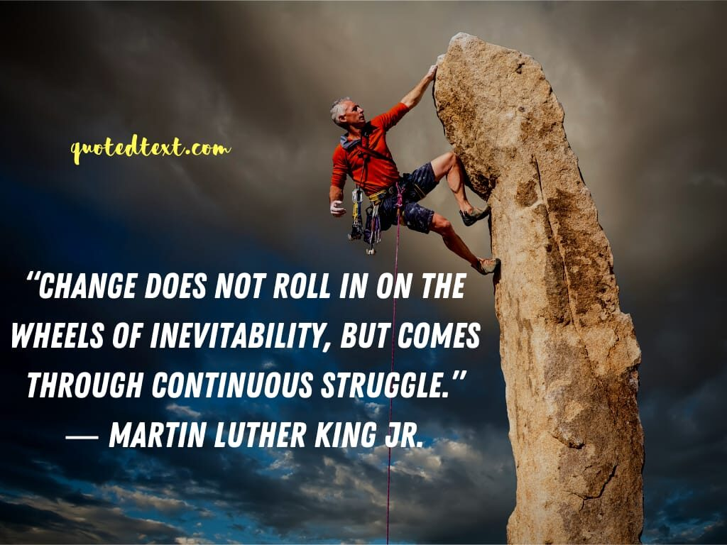Martin Luther King quotes on change