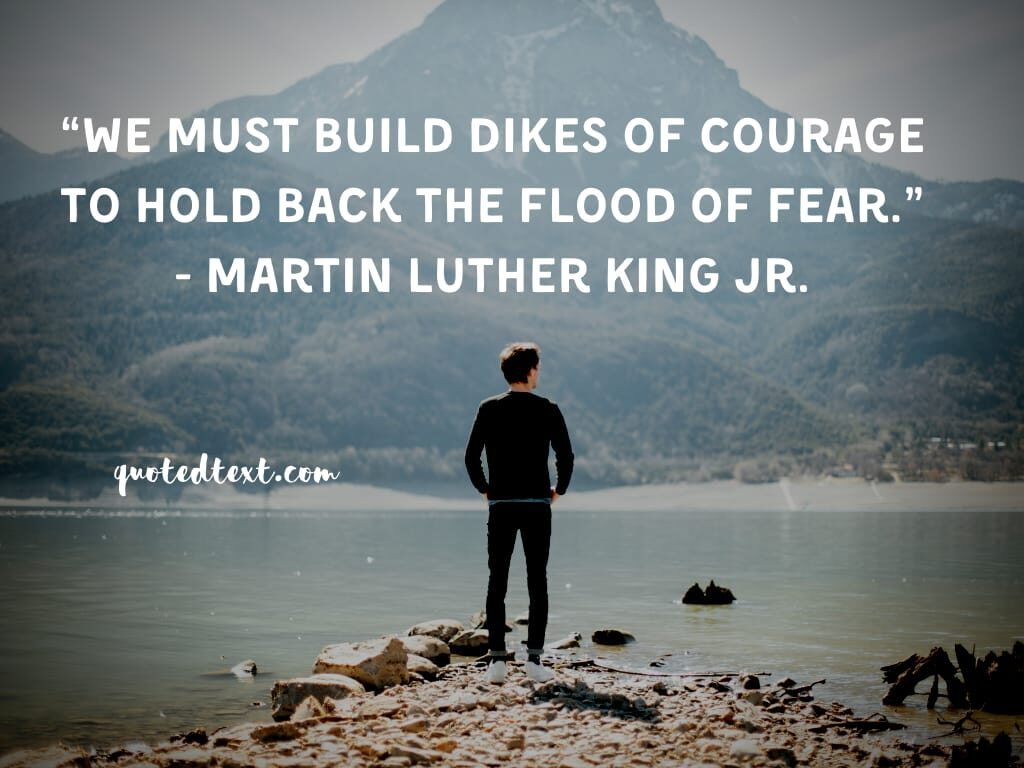 Martin Luther King quotes on fear