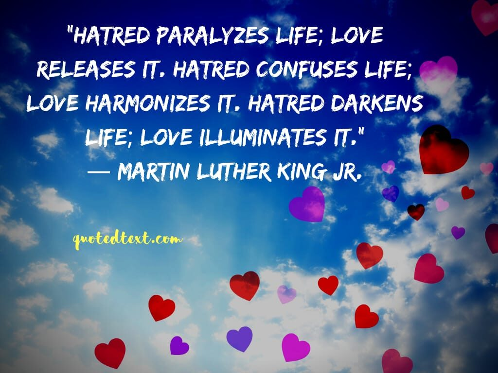 Martin Luther King quotes on hatred