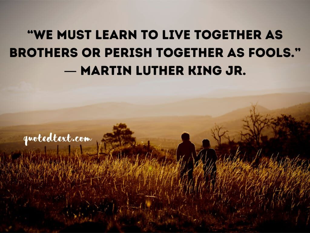 Martin Luther King quotes on learning