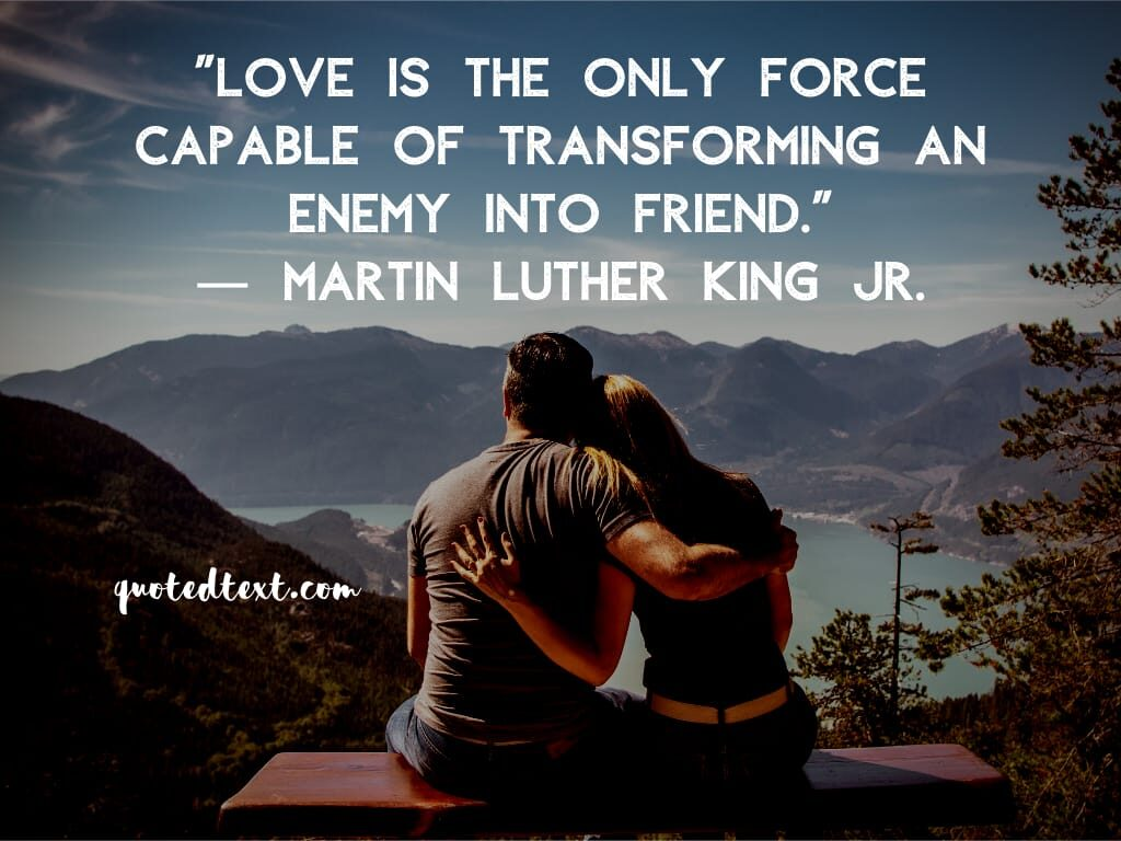 Martin Luther King quotes on love