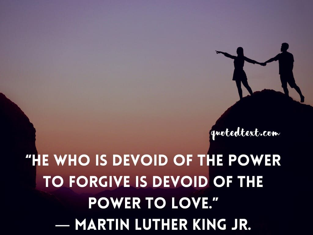 Martin Luther King quotes on power to love