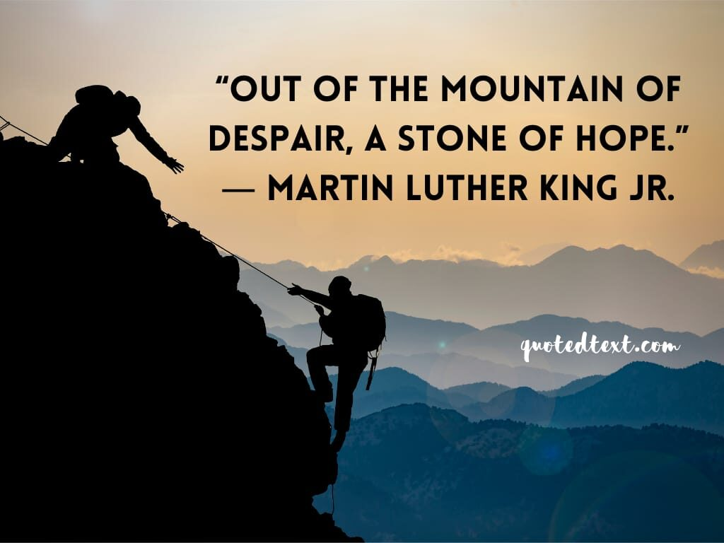 Martin Luther King quotes on hope
