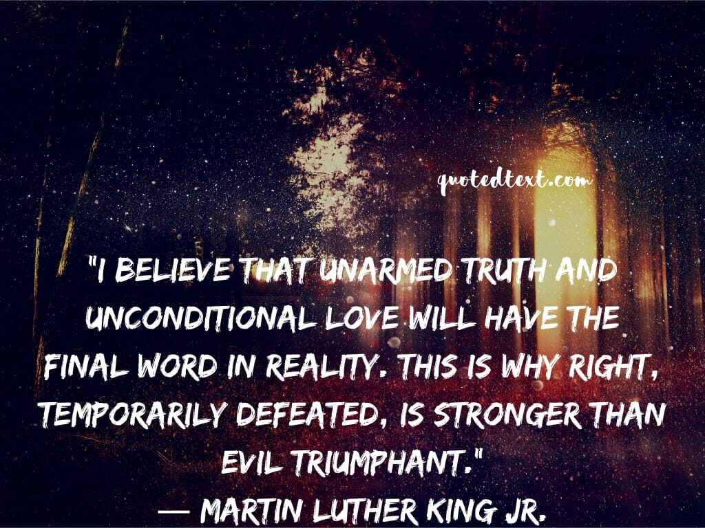 Martin Luther King quotes on truth