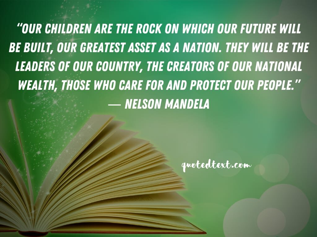nelson mandela quotes on children