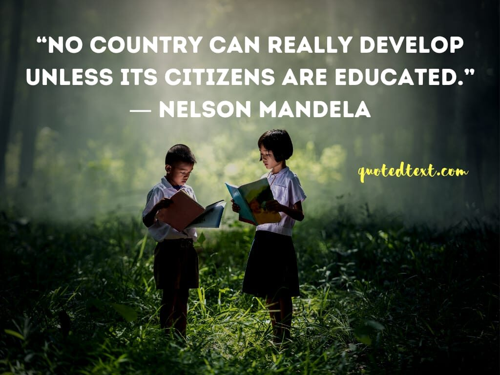 nelson mandela quotes on country