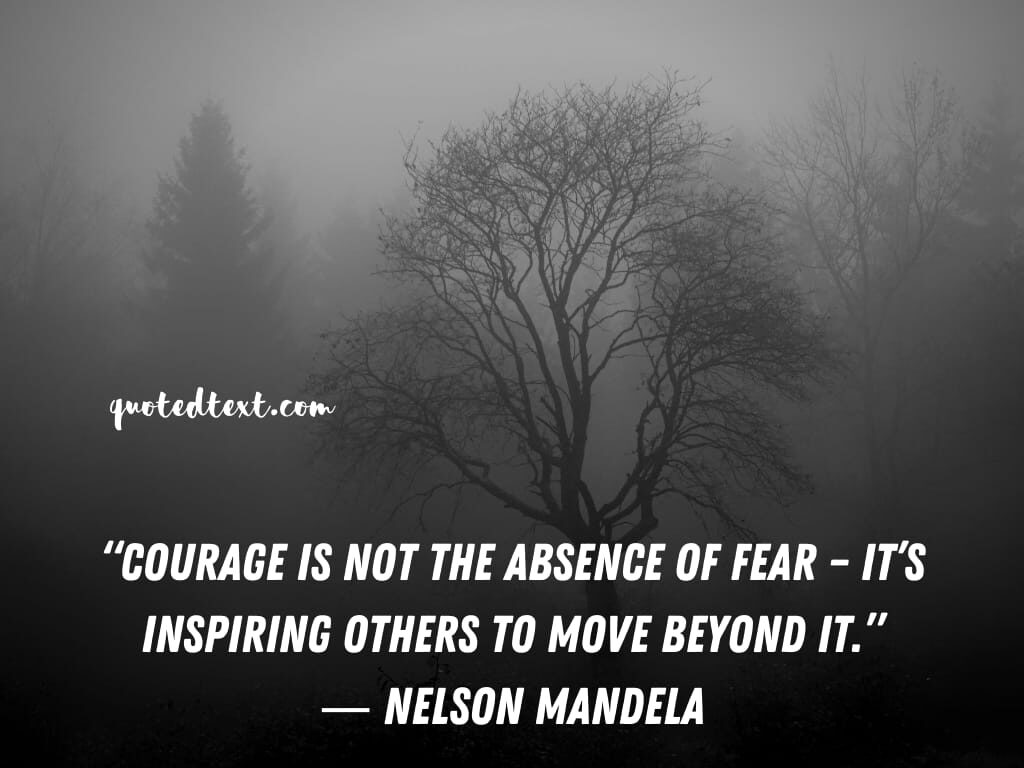 nelson mandela quotes on courage