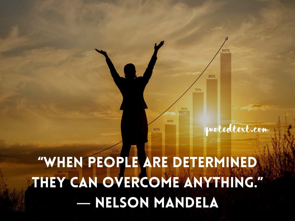 nelson mandela quotes on determination