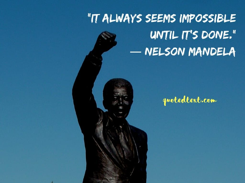 nelson mandela inspirational quotes